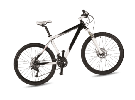 bicycle-isolated-on-white-PV8AP5X2