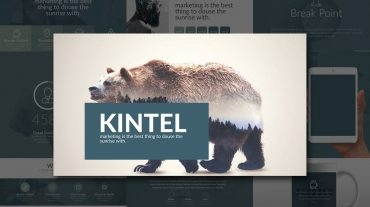 Kintel Modern Portfolio Powerpoint