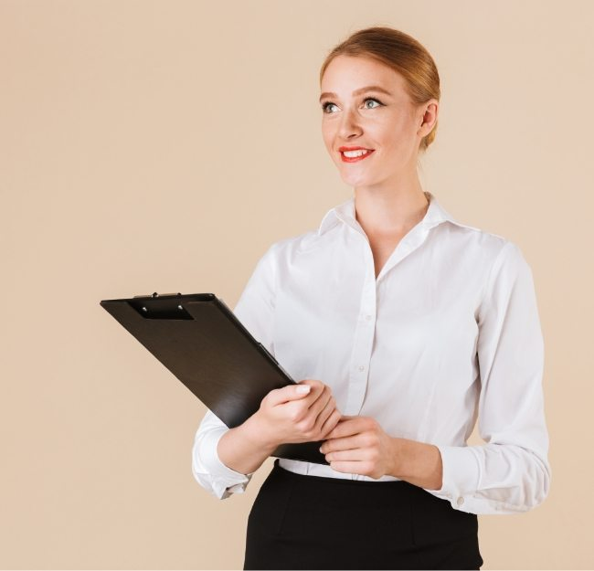 amazing-business-woman-holding-clipboard-looking-8E2Y5Z7