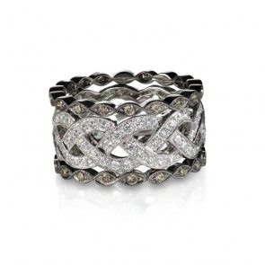 diamond-gemstone-rings-stacked-together-bridal-6BV85TH