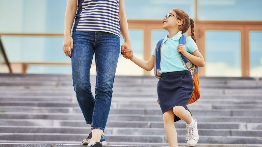 parent-and-pupil-go-to-school-PGF2QF4