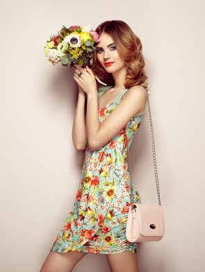 woman-in-elegant-floral-dress-PMAGTRT